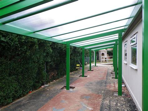 Free Standing Canopy Patio by 6m Powder Coated Aluminium Free Standing Canopy Lean To