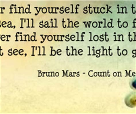 download mp3 bruno mars you can count on me count on me quotes quotesgram