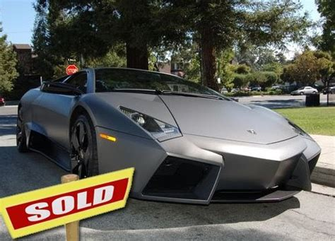 how to sell used cars 2008 lamborghini reventon security system used lamborghini reventon no3 quickly finds buyer on ebay auction