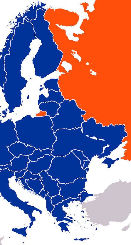 russia map of europe 2035 poland