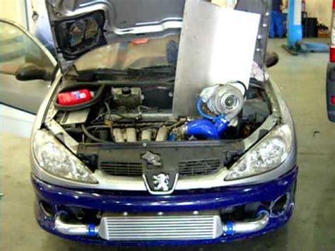 peugeot 206 turbo turbo 206 gti youtube