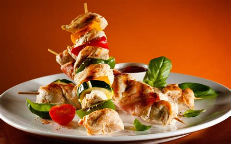 Chicken shish kebab wallpapers and images   wallpapers
