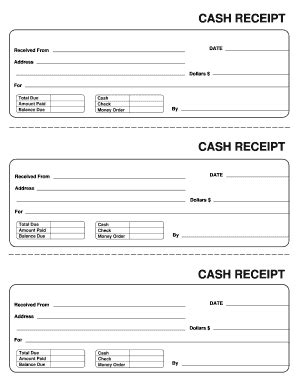 recipt template receipt template fill printable fillable blank