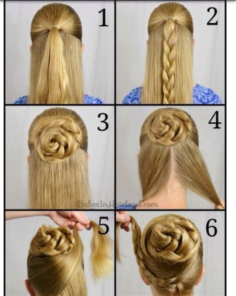 wiki hairstyles step bystep easy how to swept up braided bun musely