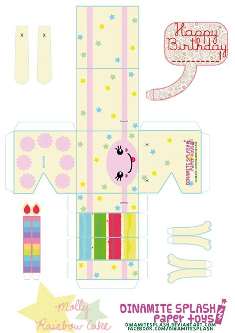 food papercraft templates pictures to pin on pinterest