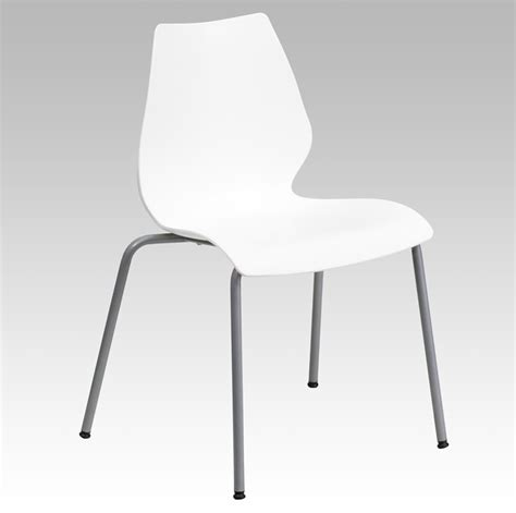 white stacking chairs hercules series 770 lb capacity white stack chair with