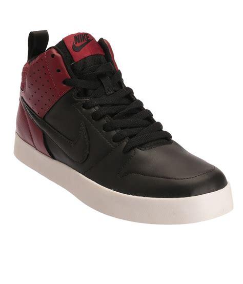 nike liteforce iii mid sl black casual shoes
