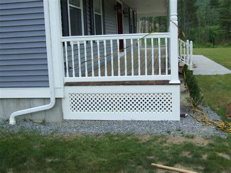 veranda lattice farmers porch lattice skirt pvc trim and pvc lattice