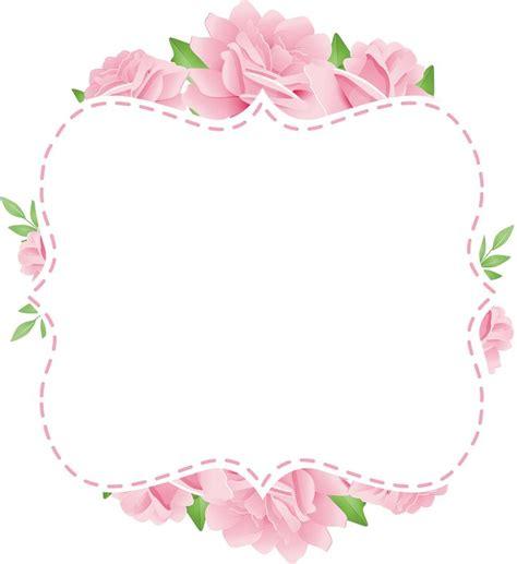 Frame Photo Meja Cantik Bunga Pink 1055 best frames images on tags cards and flower frame