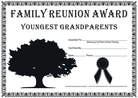 family reunion games family reunion certificates hope