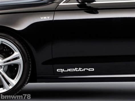 Audi Quattro Decals by Supdec Audi Decals Stickers