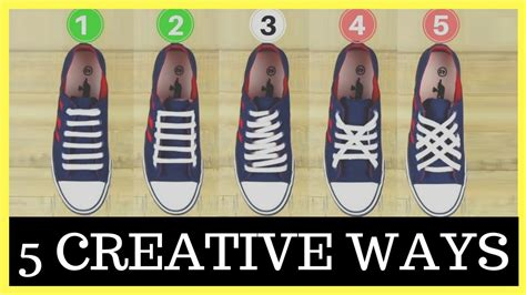different ways to tie shoes quot how to tie shoelaces quot 5 quot creative ways to tie shoelaces