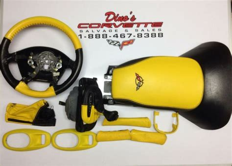 Kit Segi Empat Two Tone c5 corvette owners turn your black interior into a two tone look complete used kit in stock