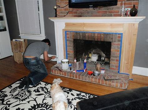 Building A Mantel On A Brick Fireplace by Build A Fireplace Mantel Plans Woodworking Projects Plans