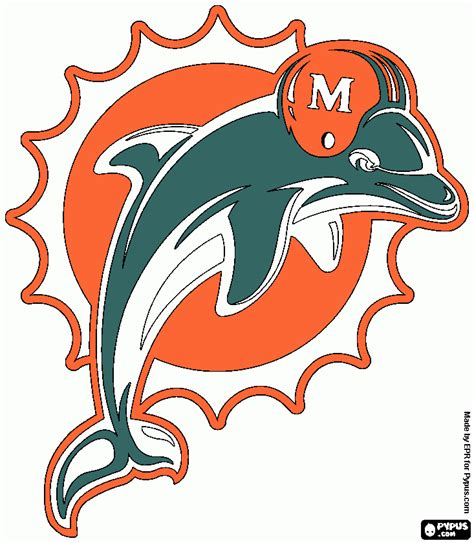 coloring pages of miami dolphins miami dolphin coloring page printable miami dolphin