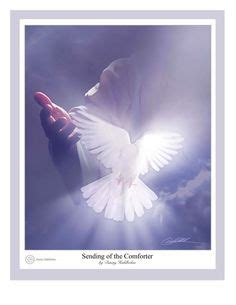 jesus sends the comforter peaceful dove on pinterest holy spirit white doves and