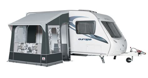 Caravan And Awning by Dorema Caravan Porch Awning