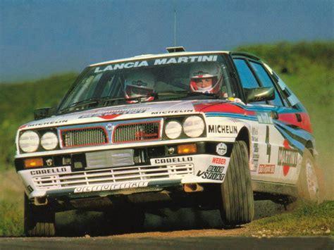 Lancia Delta Integrale Rally Mad 4 Wheels 1988 Lancia Delta Hf Integrale 16v Rally