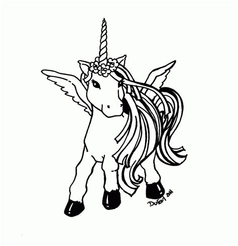 unicorn coloring page pdf unicorn rainbow coloring pages only coloring pages