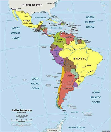 Search South America Source Search America Political Map What