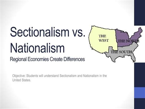 Sectionalism And Nationalism by Ppt Warm Up Happy Thursday Powerpoint Presentation