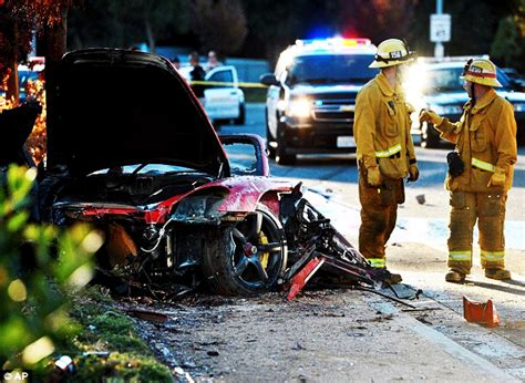 car crash fast and furious photo of fast and furious paul walker before