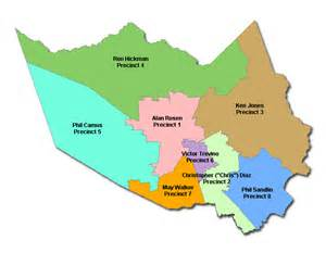 where is harris county on map new 1 harris county precinct map