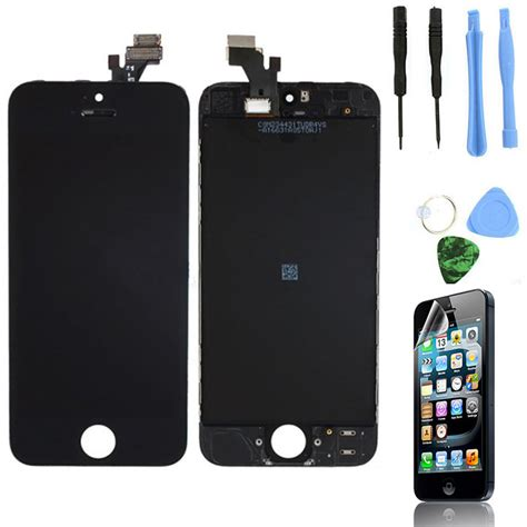 Lcd Iphone 5 Black lcd lens touch screen display digitizer assembly