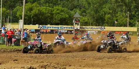 ama atv motocross schedule atvision rd 8 spring creek atv motocross