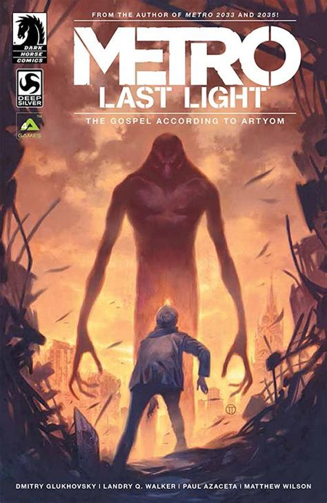 the a novel books comics reveals metro last light digital