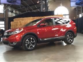 Honda Cvr 2017 Honda Cr V World Unveil Driving The Nation