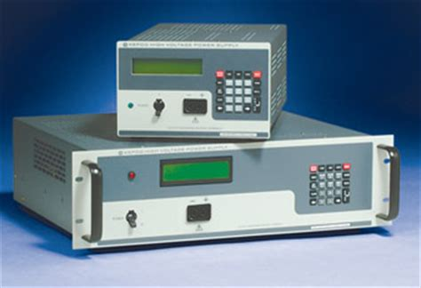 high voltage bench power supply kepco inc dc power supplies dc power supply high voltage hv rack mount or bench