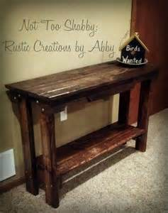 Pallet Console Table Pallet Sofa Table Pallets Pallets Pallets