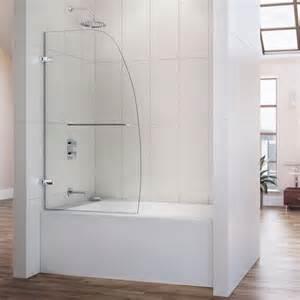 dreamline aqua uno 34x 58 inch single panel hinged tub door