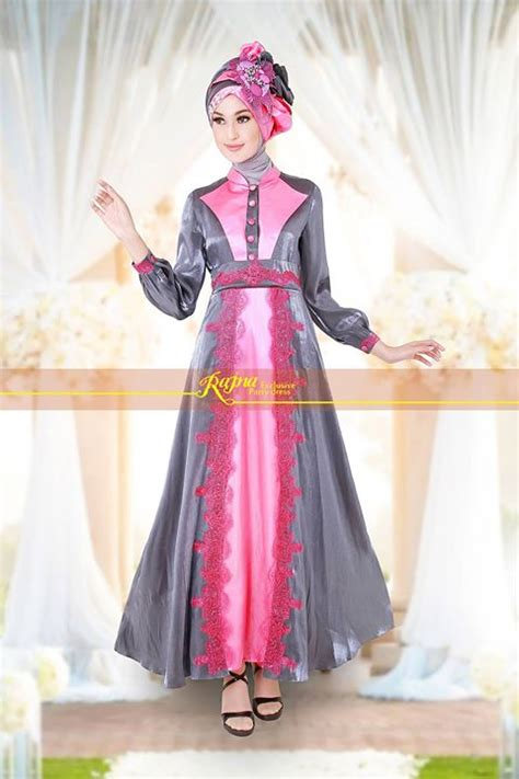 Dress Pesta Quine By Ayyanameena model baju muslim pesta mewah pusat busana gaun pesta