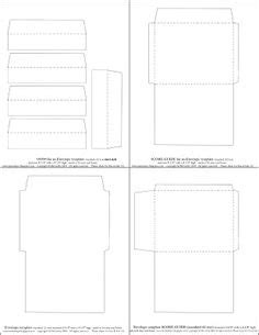credit card sized envelope template envelope template standard envelope template free