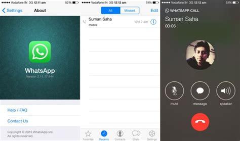 tutorial whatsapp call screenshots show whatsapp voice calls could be headed for