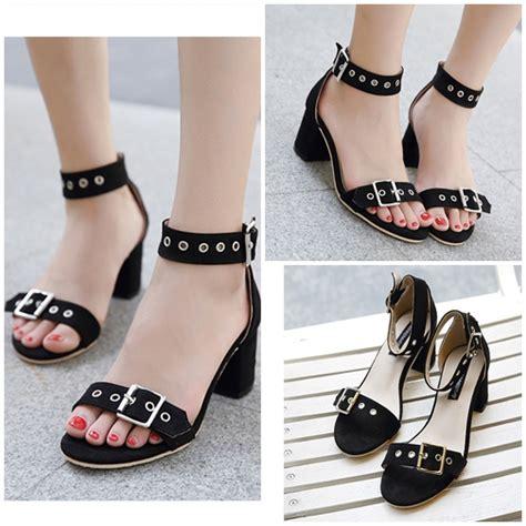 Sepatu High Heelspump Shoes Import 14cm Black jual shh612 black sepatu heels suede 6cm grosirimpor