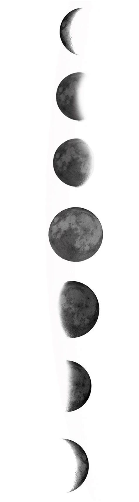 moon phases tattoos designs best 25 moon phase ideas on temporary