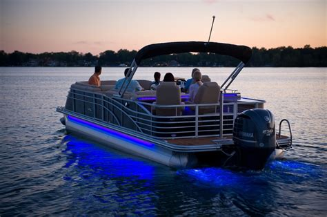 boat lights for pontoon 2013 bennington 2550 qbr w underwater and side led