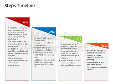 powerpoint templates for timelines business timeline powerpoint template