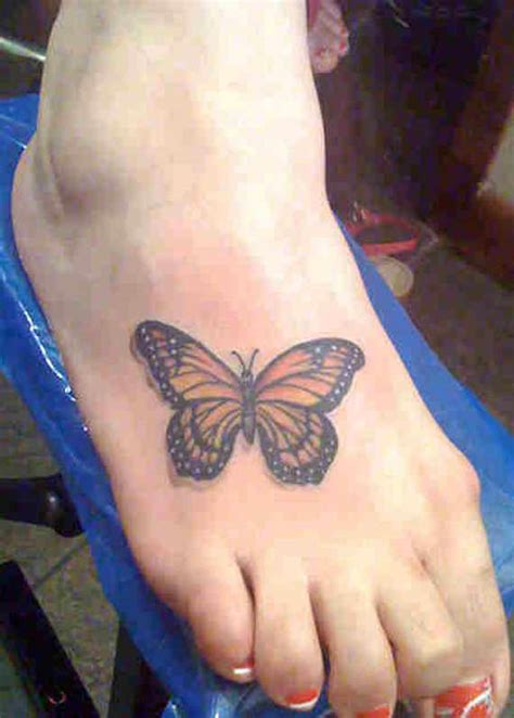 butterfly foot tattoo 35 splendid foot butterfly tattoos and designs