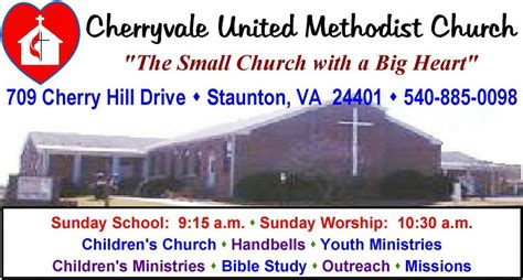 Upholstery Staunton Va by Cherryvale United Methodist Church Staunton Va 24401 540 885 0098