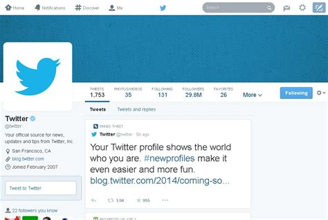twitter new layout twitter to roll out new profile layout soon kabir news