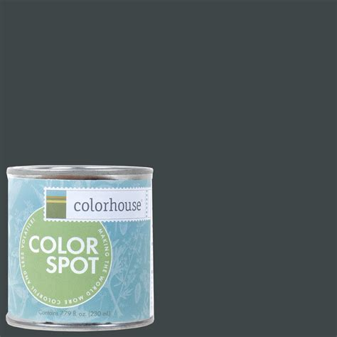 home depot yolo colorhouse paint colorhouse 8 oz metal 06 colorspot eggshell interior