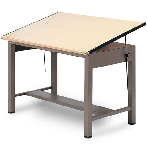 Drafting Table Supplies Mayline 37 5 Quot X 72 Quot Ranger 4 Post Drafting Table 7737 7737a 7737b
