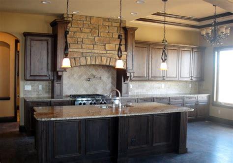 Knotty Alder Kitchen Cabinets by Colorado Knotty Alder Kitchen Traditional Kitchen