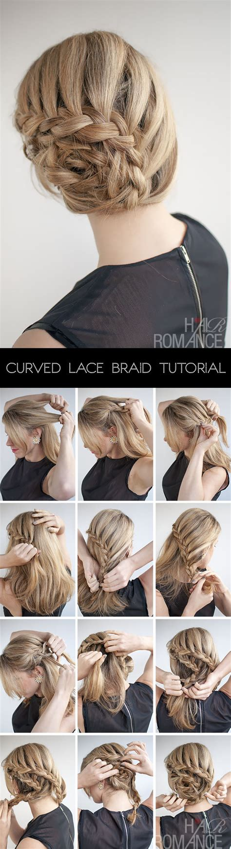 parting tutorial for braiding hair curved lace braid hairstyle tutorial inspired by nicole