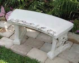 personalised garden bench personalized concrete garden bench concrete garden bench