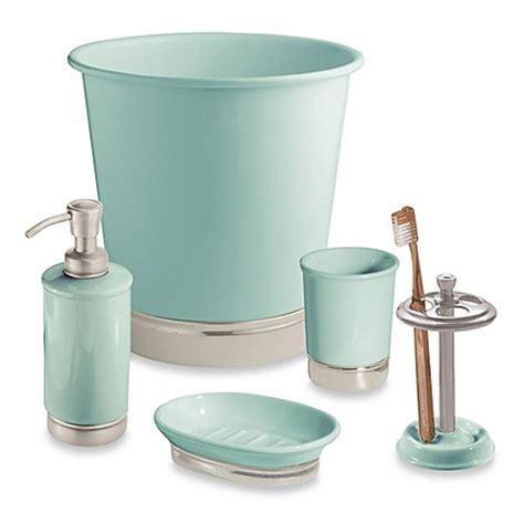 York Bathroom Accessories Interdesign 174 York Wastebasket Bed Bath Beyond